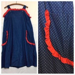 Vintage Polkadot MuMu tank dress